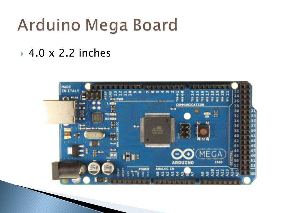 Arduino Mega Board 4.0 x 2.2 inches