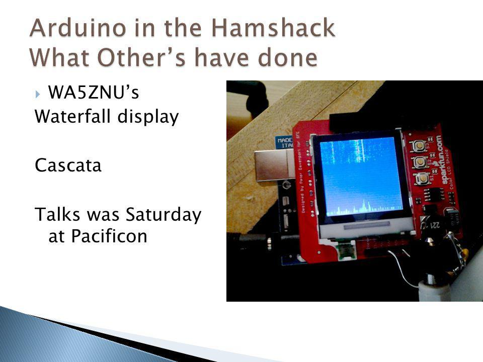 Arduino in the Hamshack What Other's have done