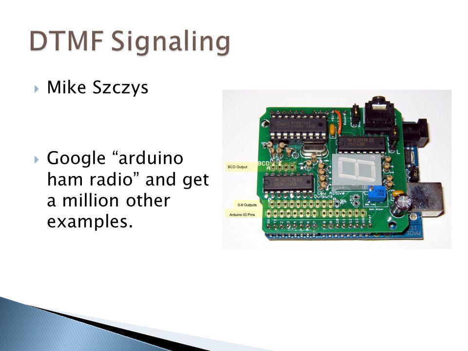DTMF Signaling Mike Szczys