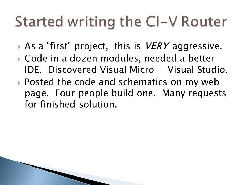 Started writing the CI-V Router