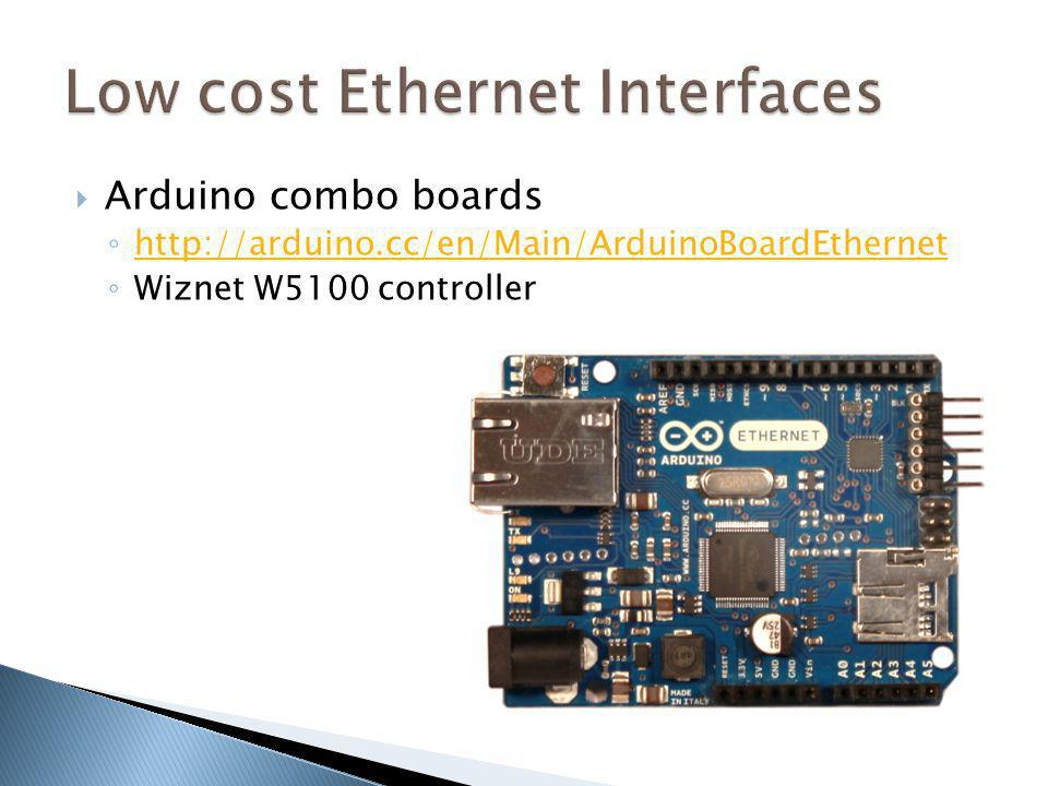 Low cost Ethernet Interfaces