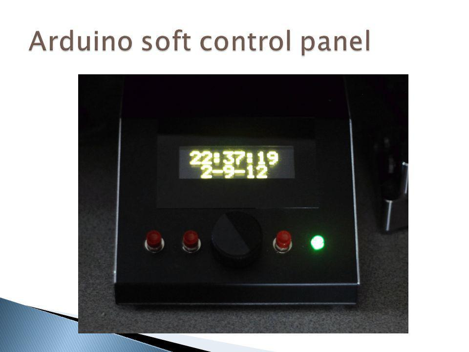 Arduino soft control panel