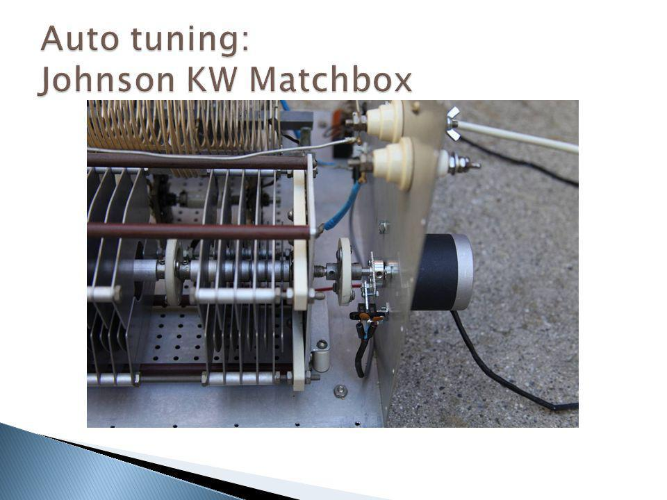 Auto tuning: Johnson KW Matchbox