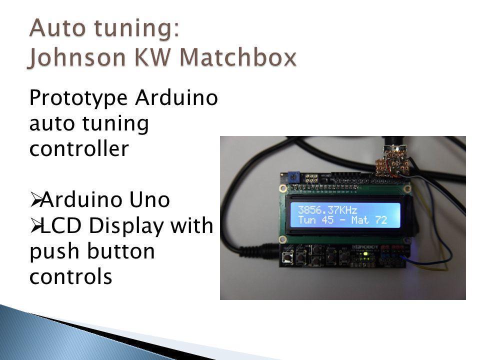 Auto tuning: Johnson KW Matchbox