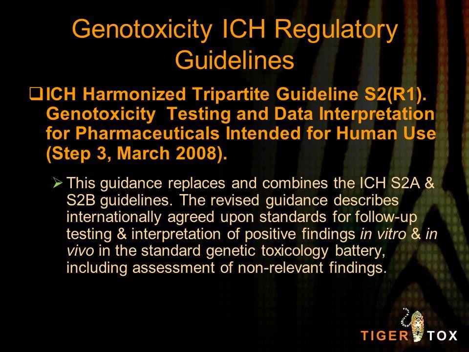 Genotoxicity ICH Regulatory Guidelines