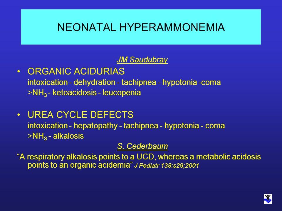 NEONATAL HYPERAMMONEMIA