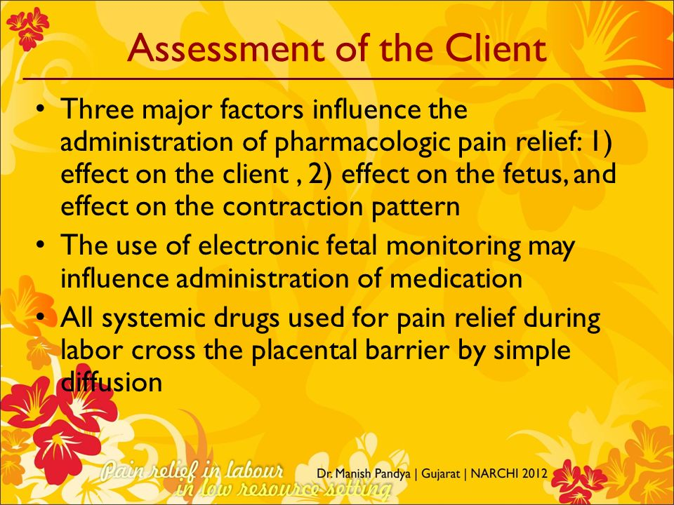 Assessment of the Client
