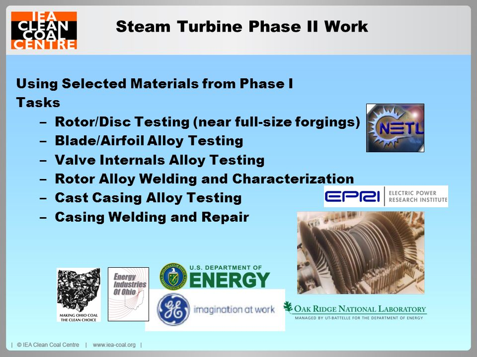 Steam Turbine Phase II Work