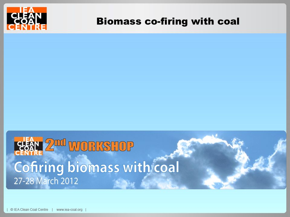 Biomass co-firing with coal
