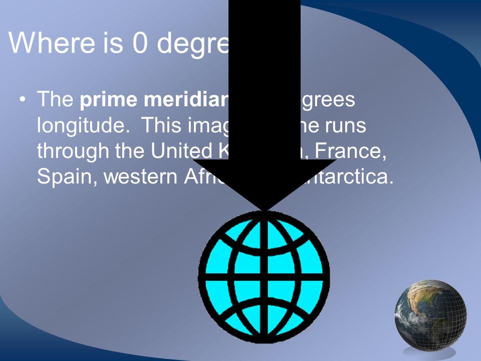 P R. I. M. E. D. A. N. Where is 0 degree
