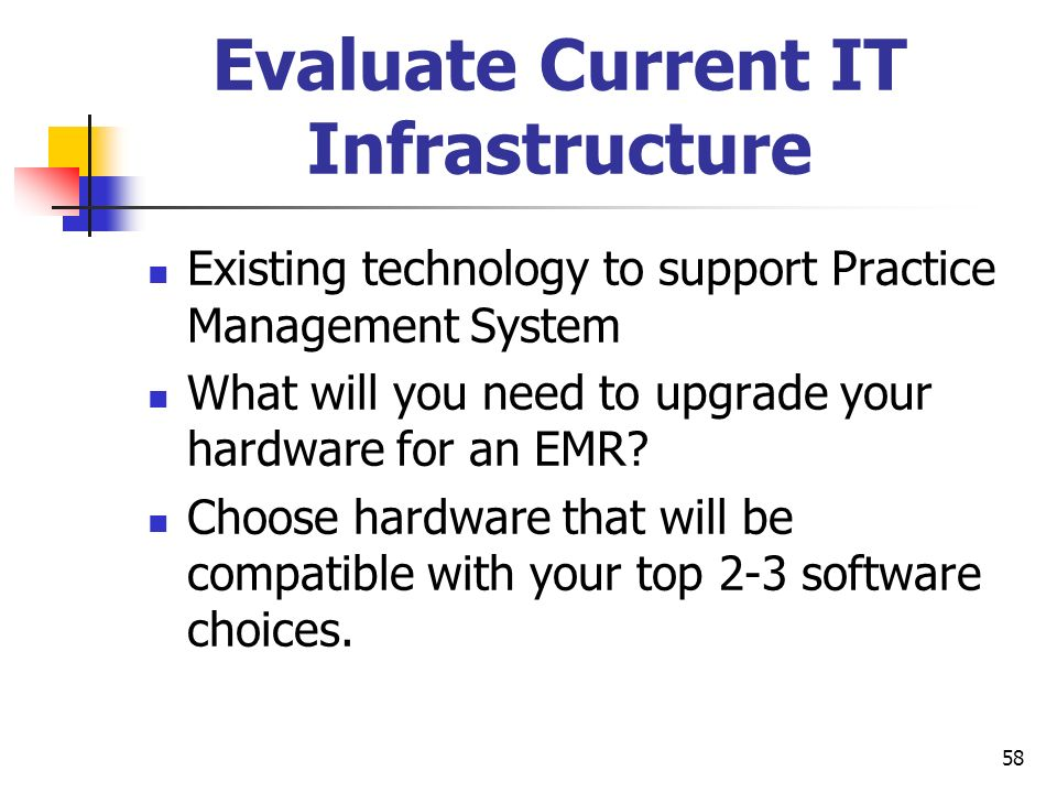 Evaluate Current IT Infrastructure