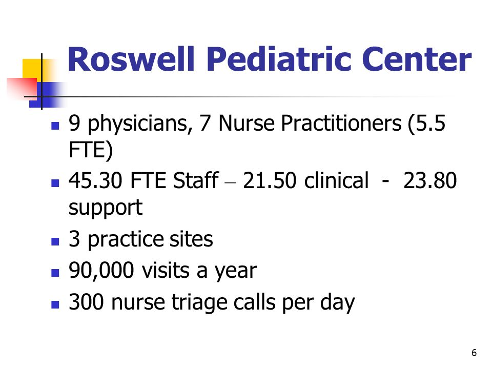 Roswell Pediatric Center