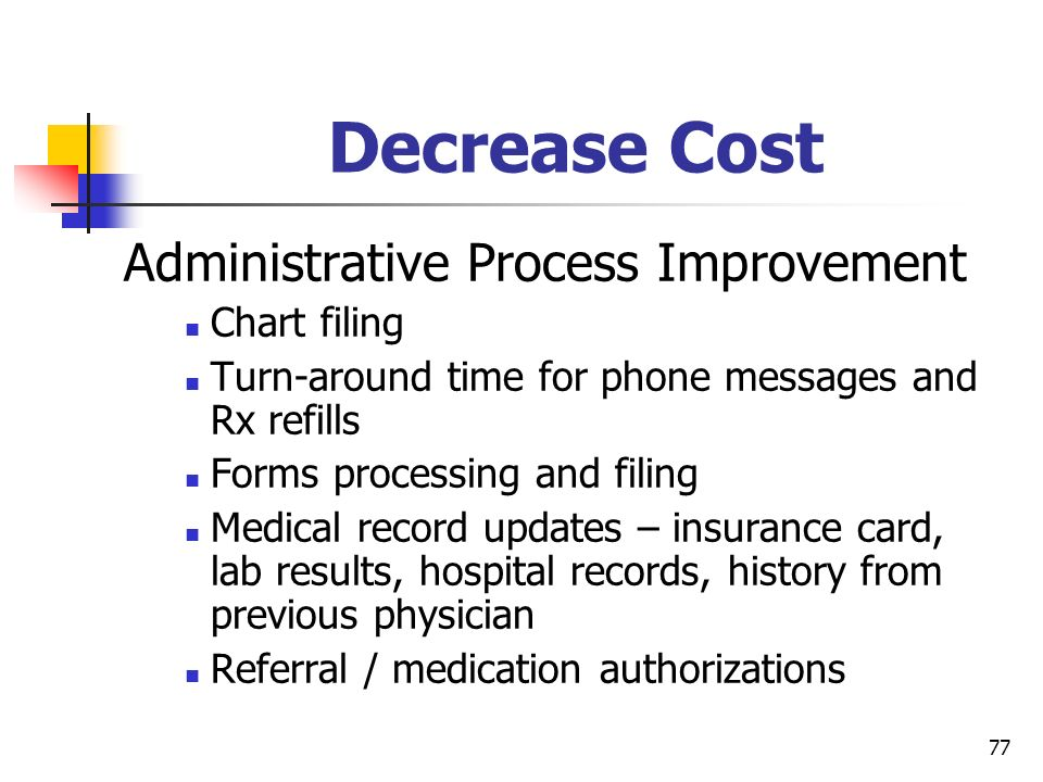 Administrative Process Improvement