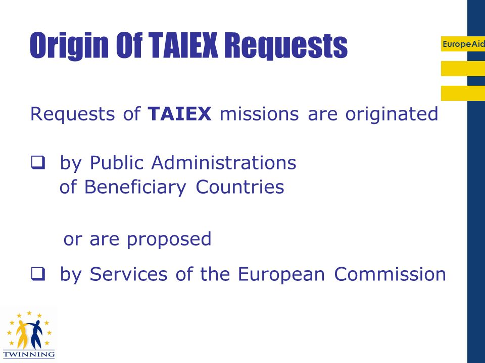 Origin Of TAIEX Requests