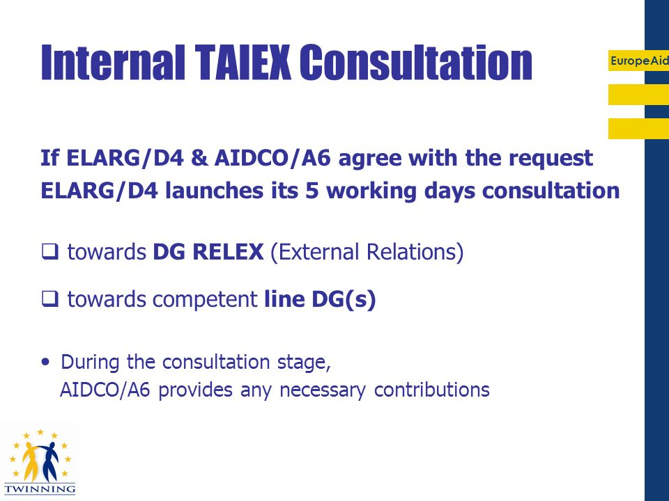 Internal TAIEX Consultation