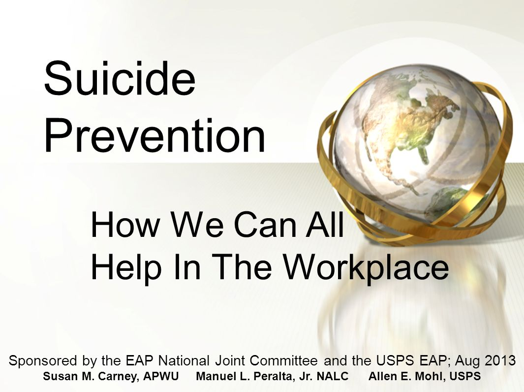 Suicide Prevention How We Can All Help In The Workplace