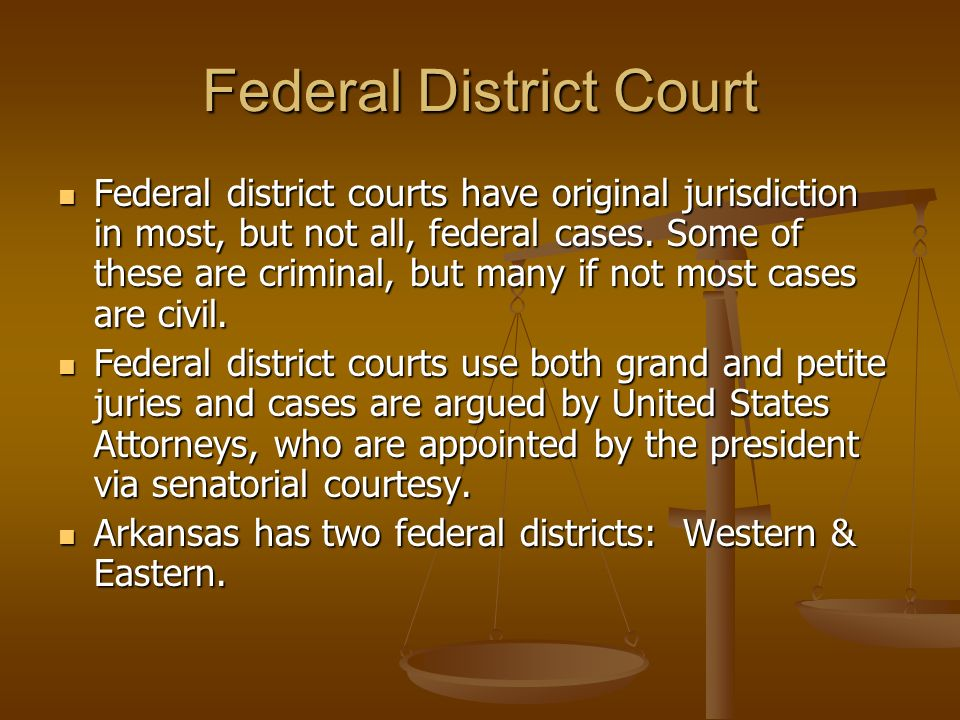 Federal District Court