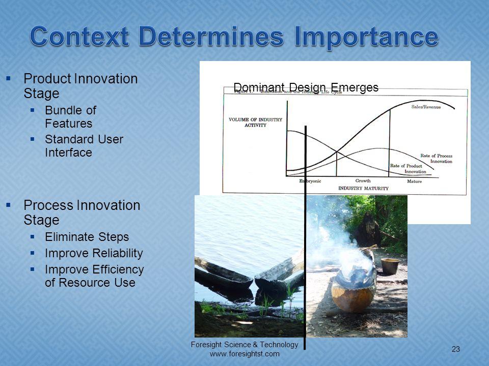 Context Determines Importance
