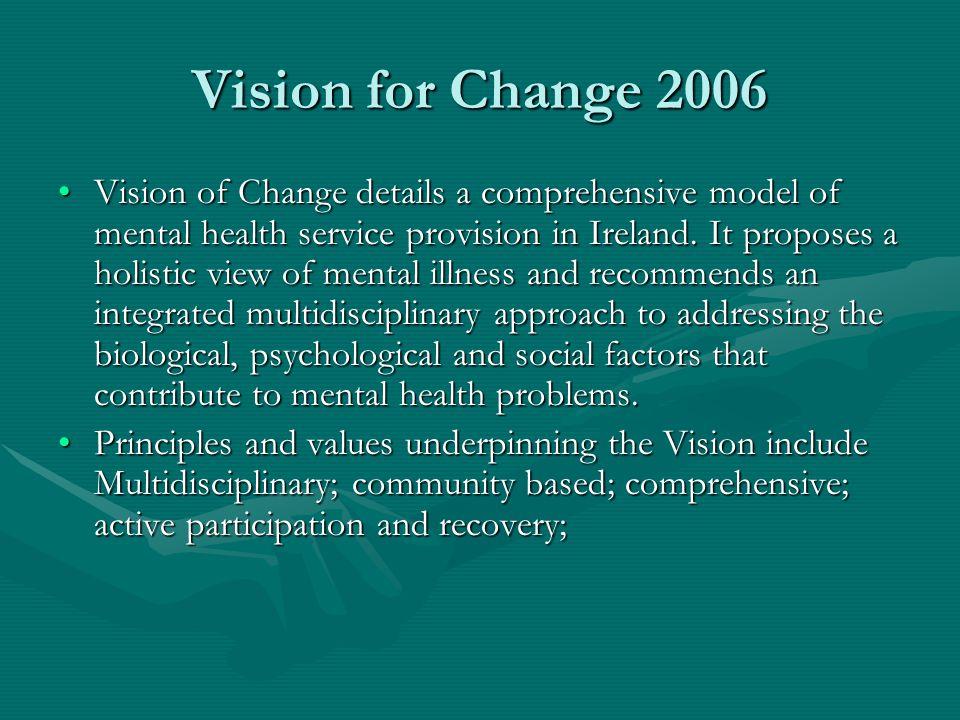 Vision for Change 2006