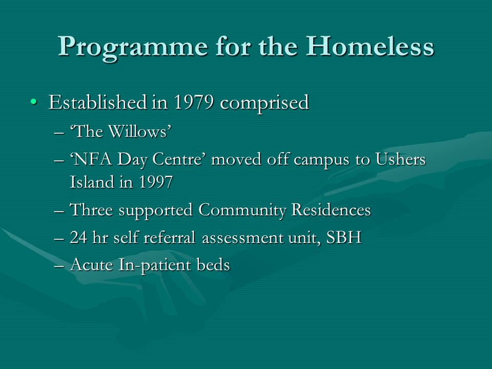 Programme for the Homeless