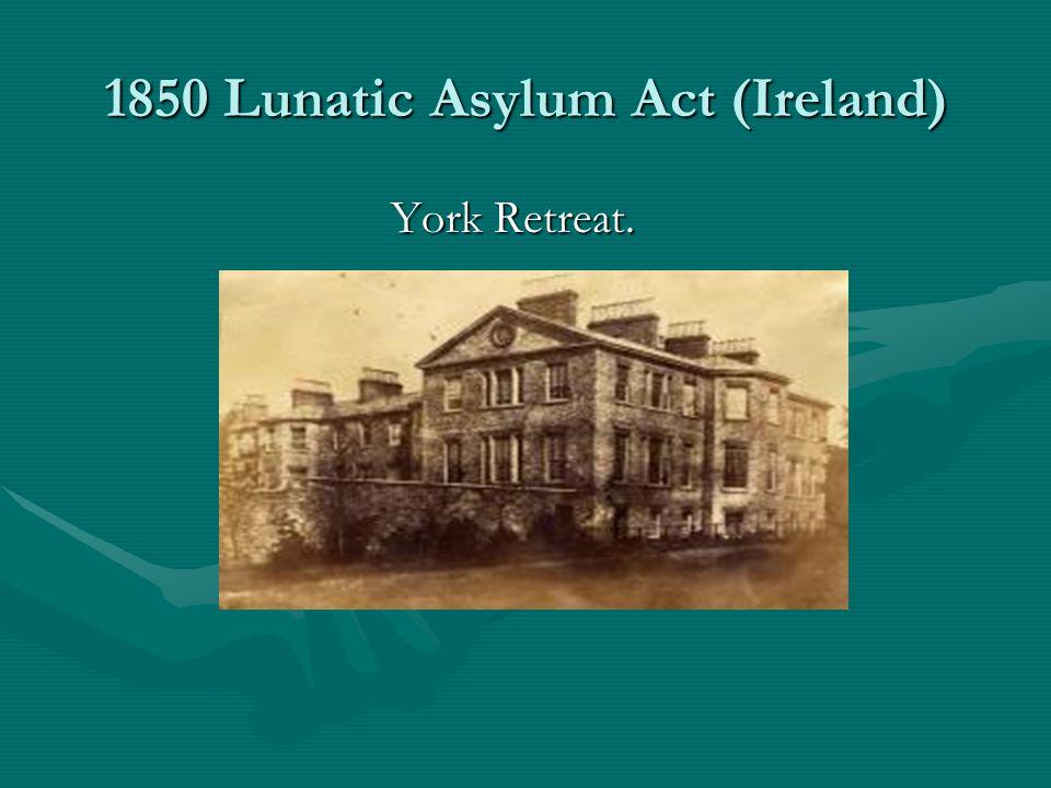 1850 Lunatic Asylum Act (Ireland)