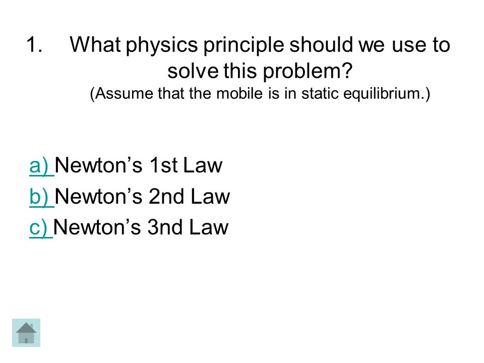 What physics principle should we use to solve this problem