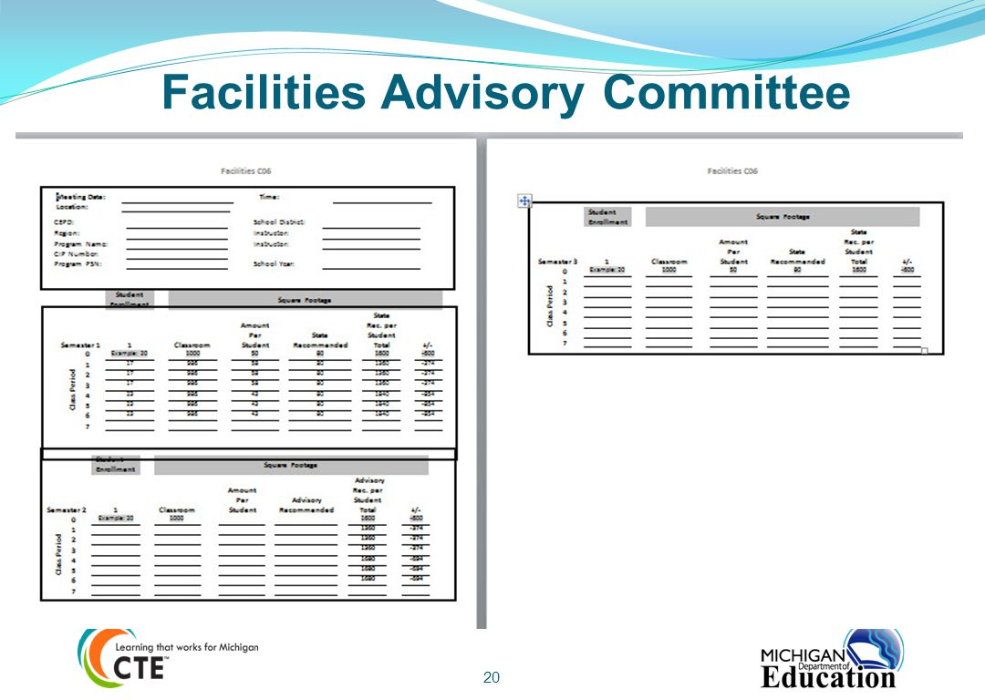 Facilities Advisory Committee