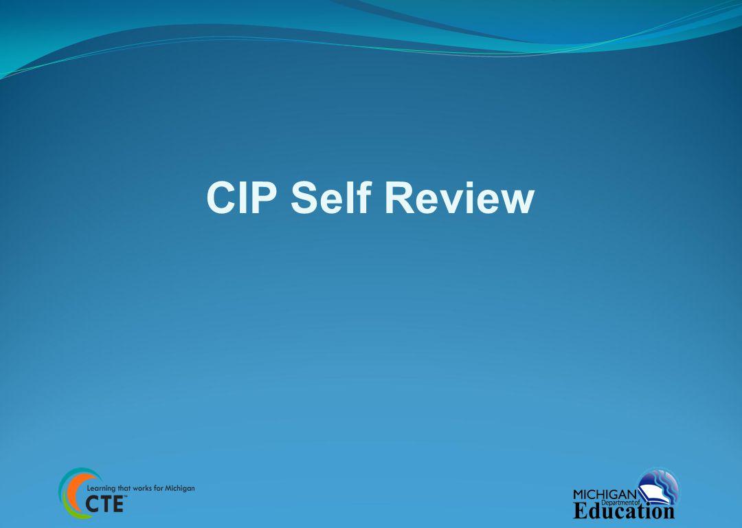 CIP Self Review