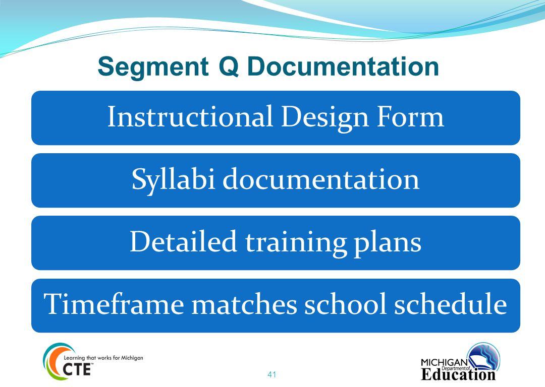 Segment Q Documentation