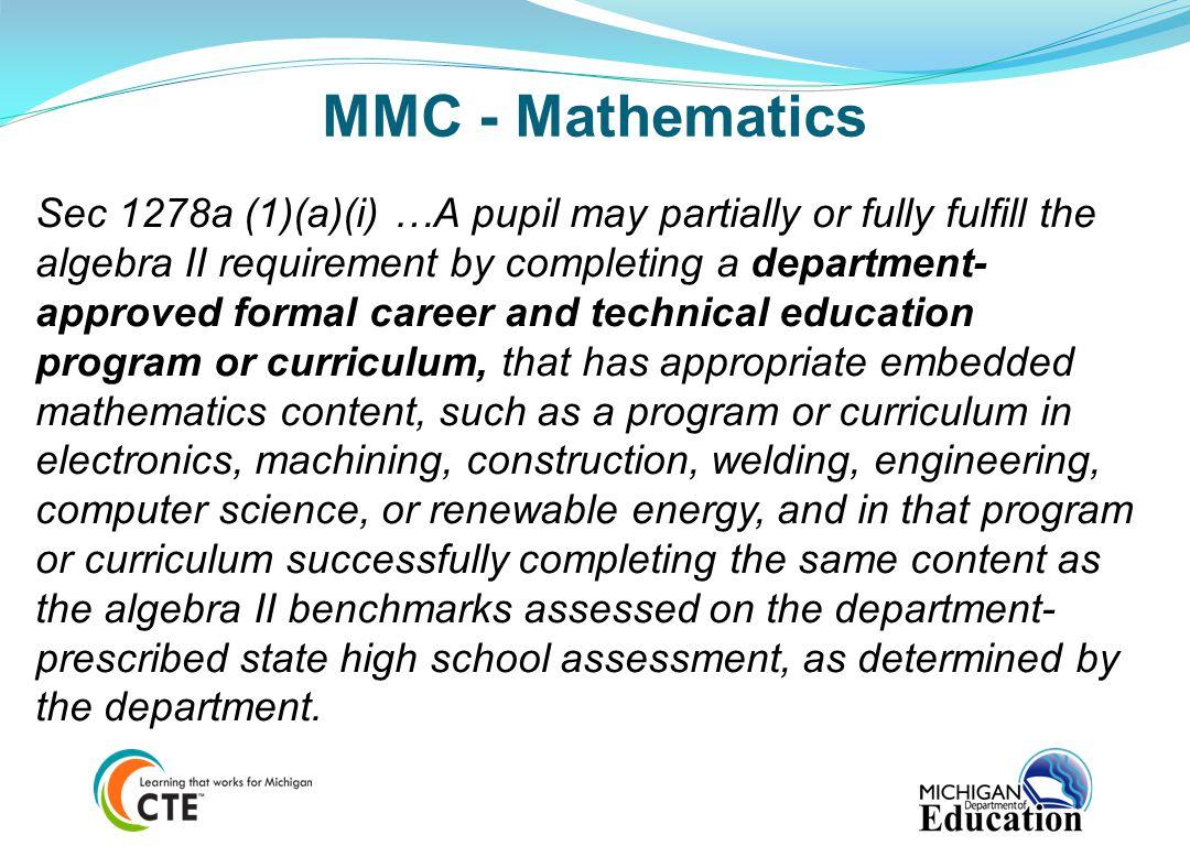 MMC - Mathematics