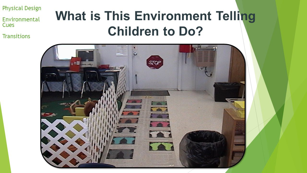 What is This Environment Telling Children to Do