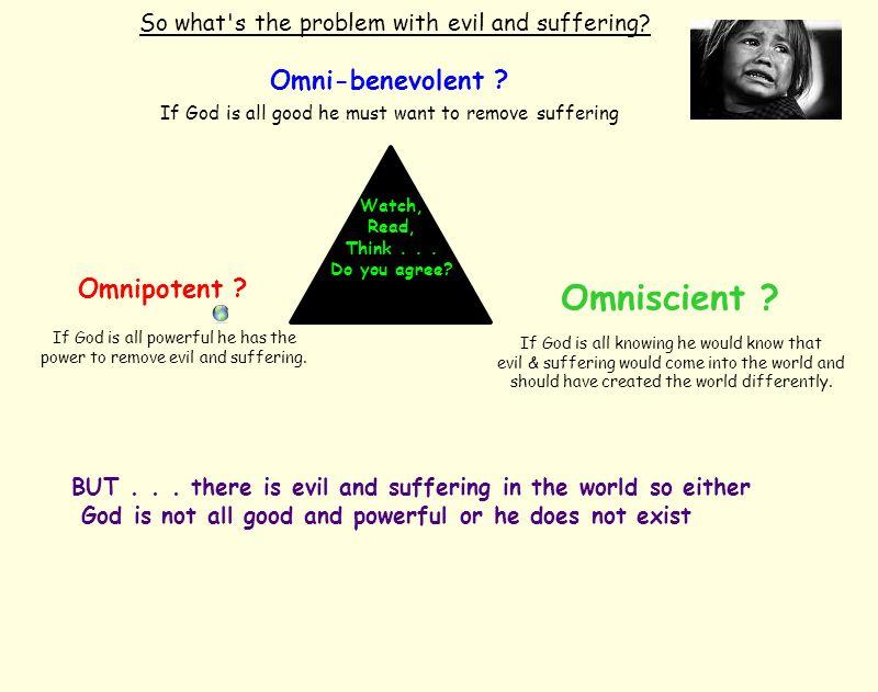 Omniscient Omni-benevolent Omnipotent