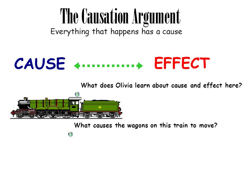 The Causation Argument