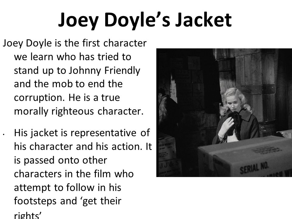 Joey Doyle's Jacket