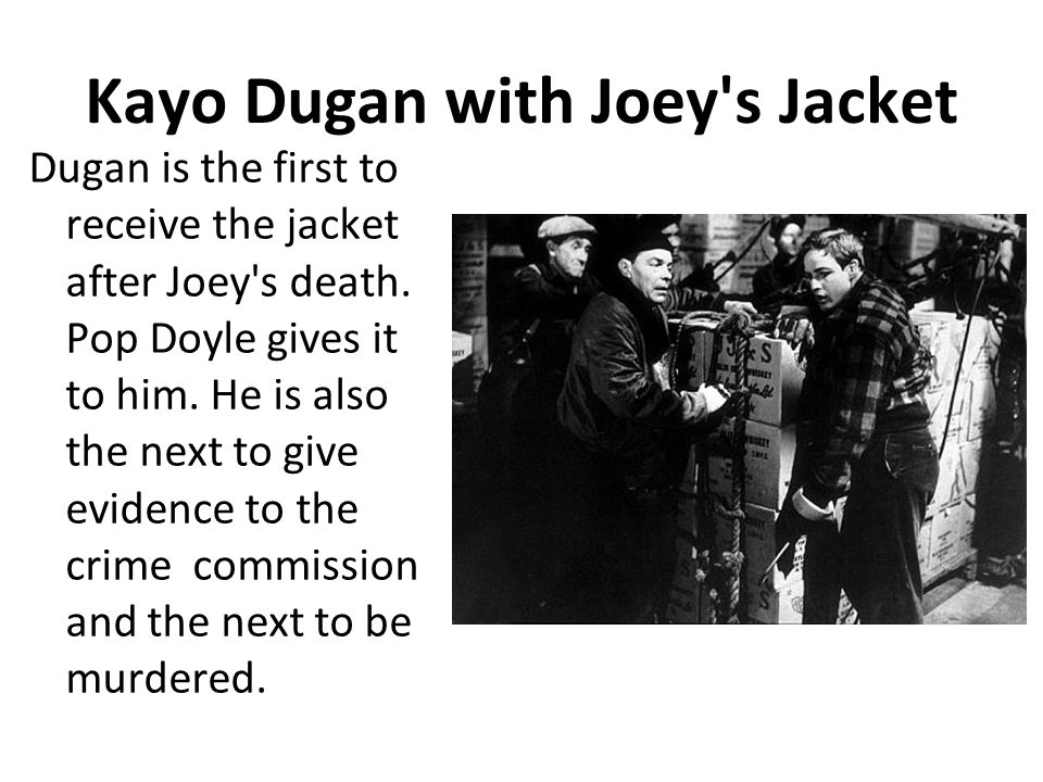 Kayo Dugan with Joey s Jacket