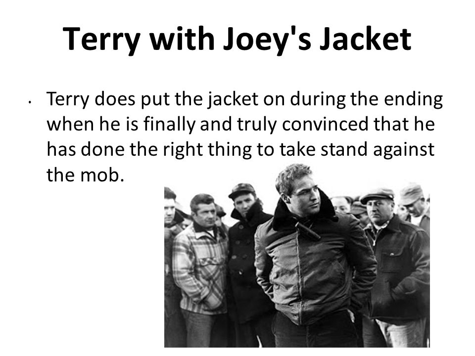 Terry with Joey s Jacket