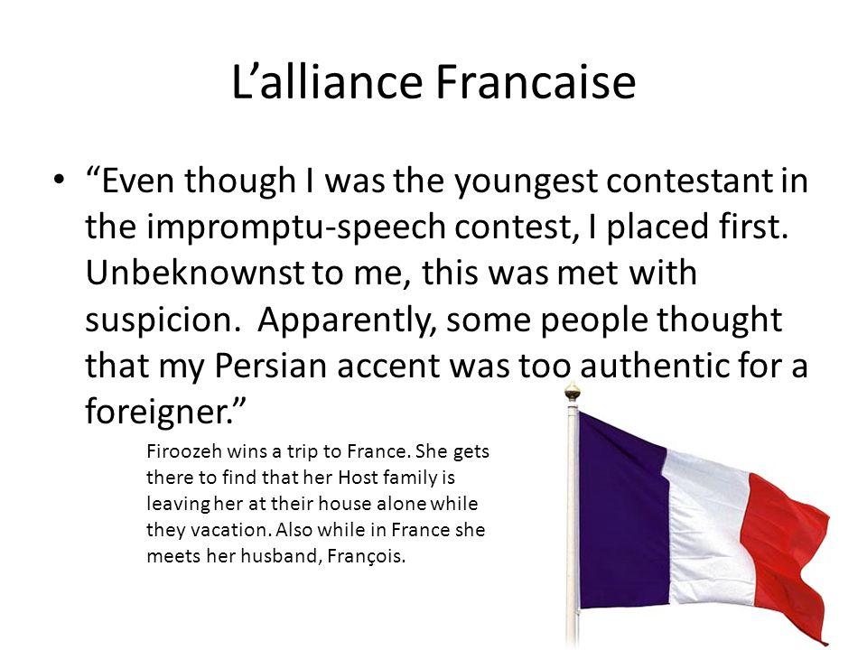 L'alliance Francaise