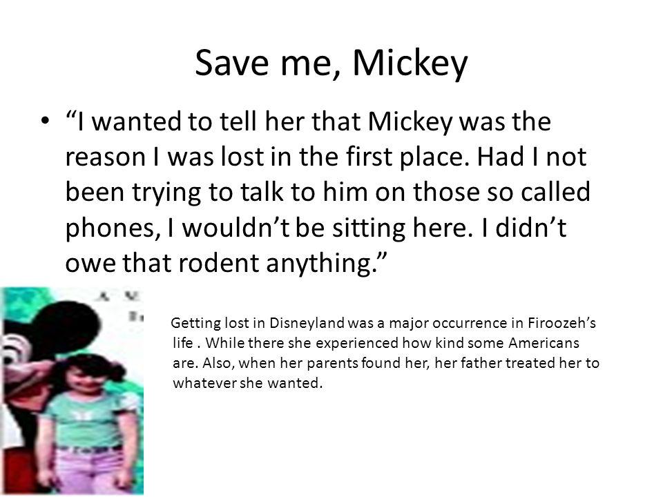 Save me, Mickey