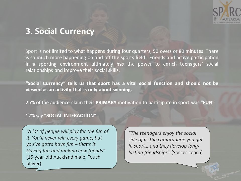 3. Social Currency