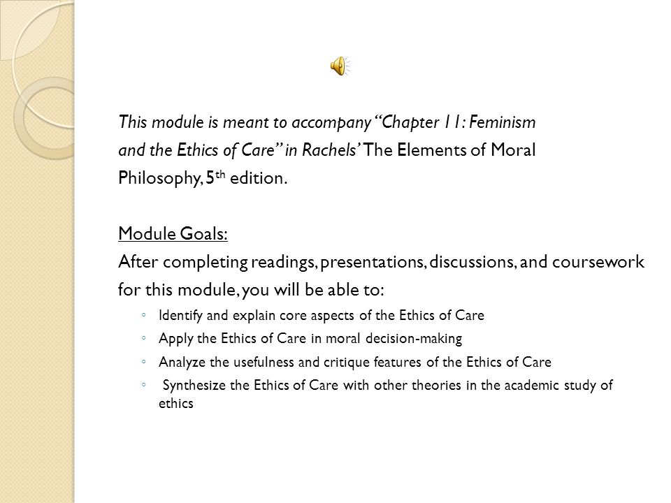 This module is meant to accompany Chapter 11: Feminism
