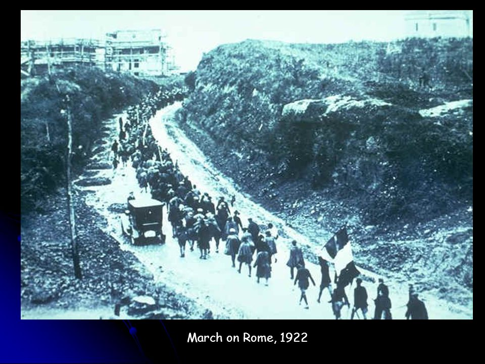 March on Rome, 1922