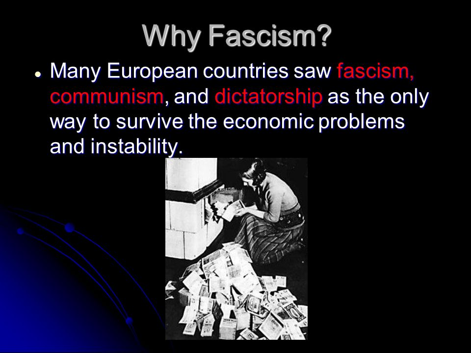 a comparison between fascism and communism This article contains the definition of fascism, nazism, communism and  militarism together with comparisons and examples of the regimes and the  dictators who.