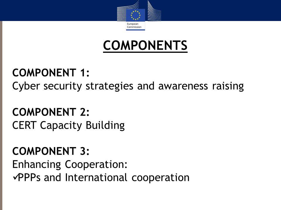 COMPONENTS COMPONENT 1: