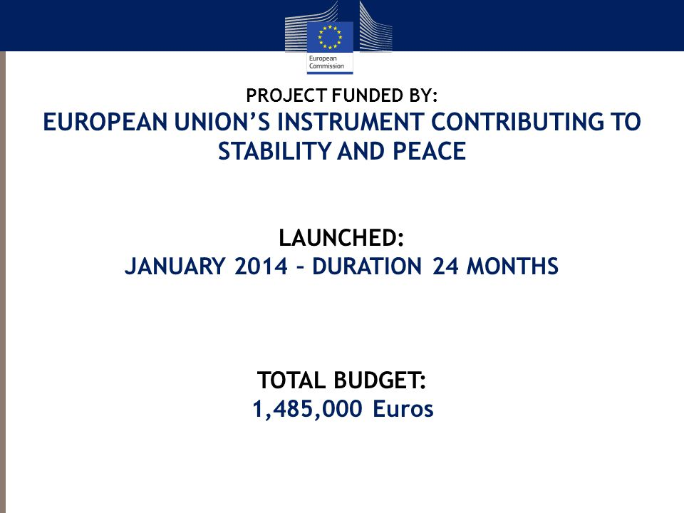 EUROPEAN UNION'S INSTRUMENT CONTRIBUTING TO STABILITY AND PEACE