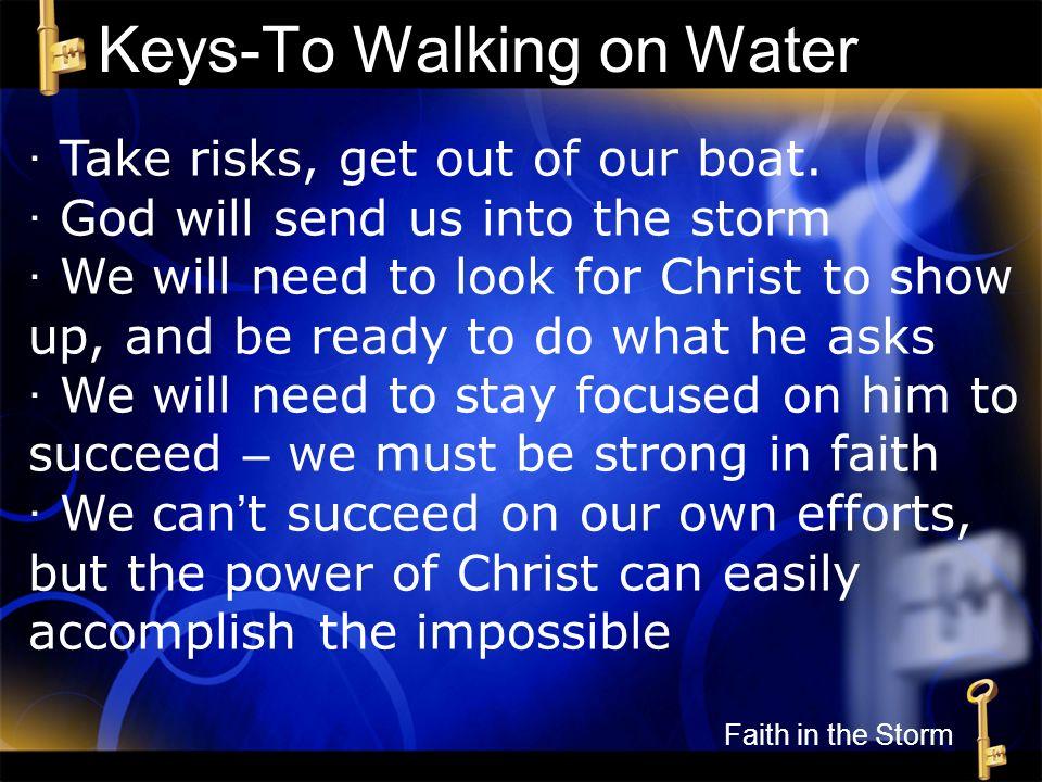 Keys-To Walking on Water