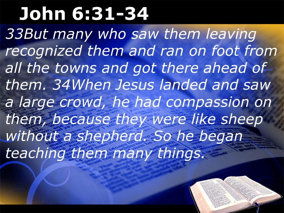 John 6:31-34
