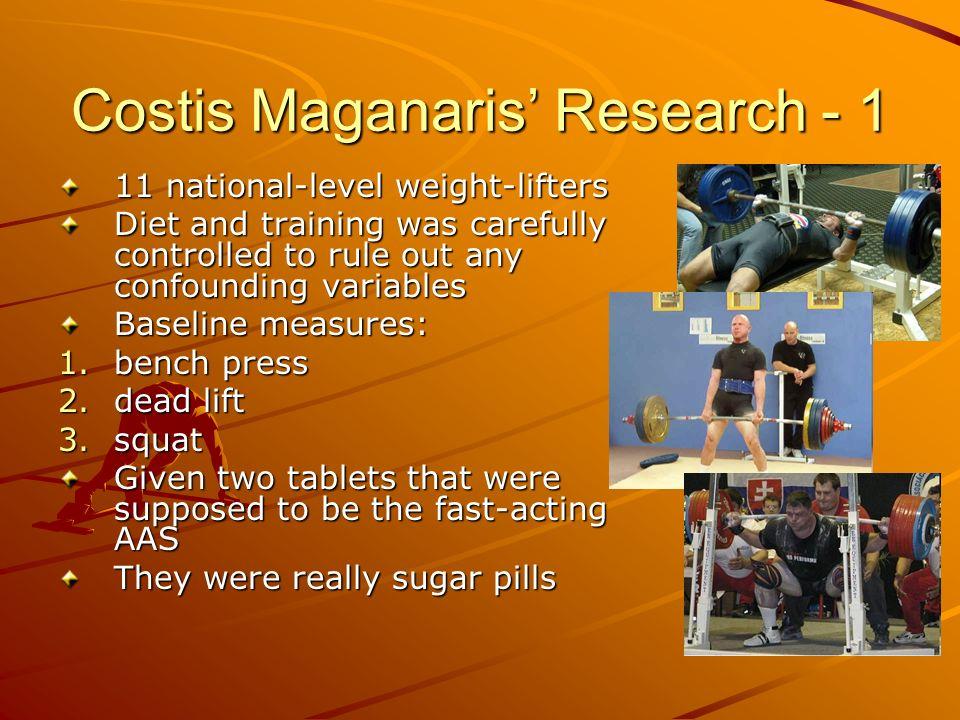 Costis Maganaris' Research - 1