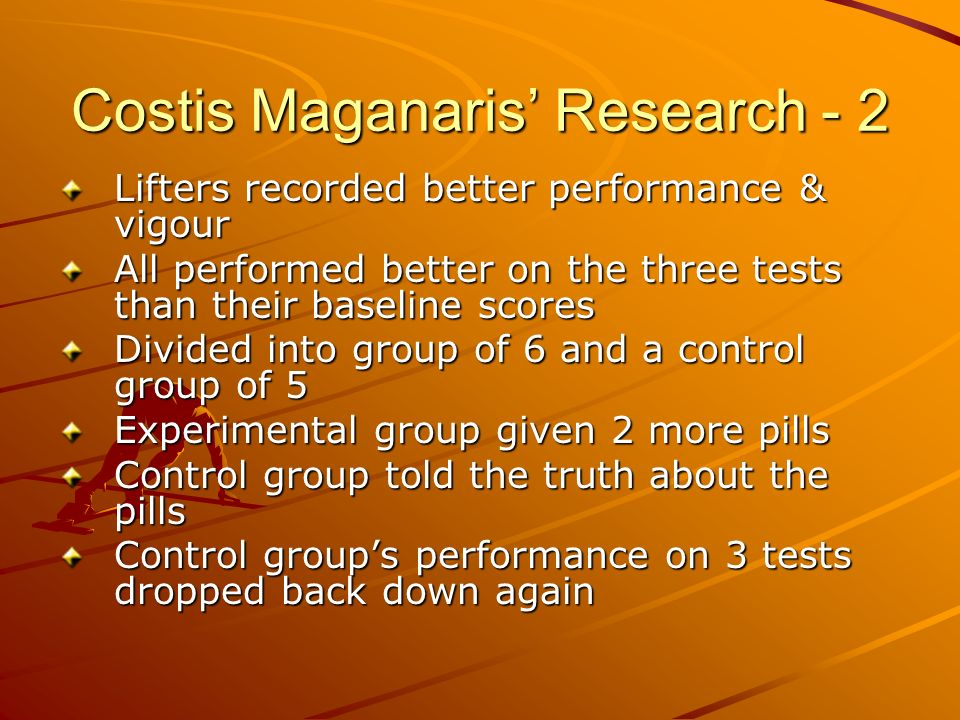 Costis Maganaris' Research - 2