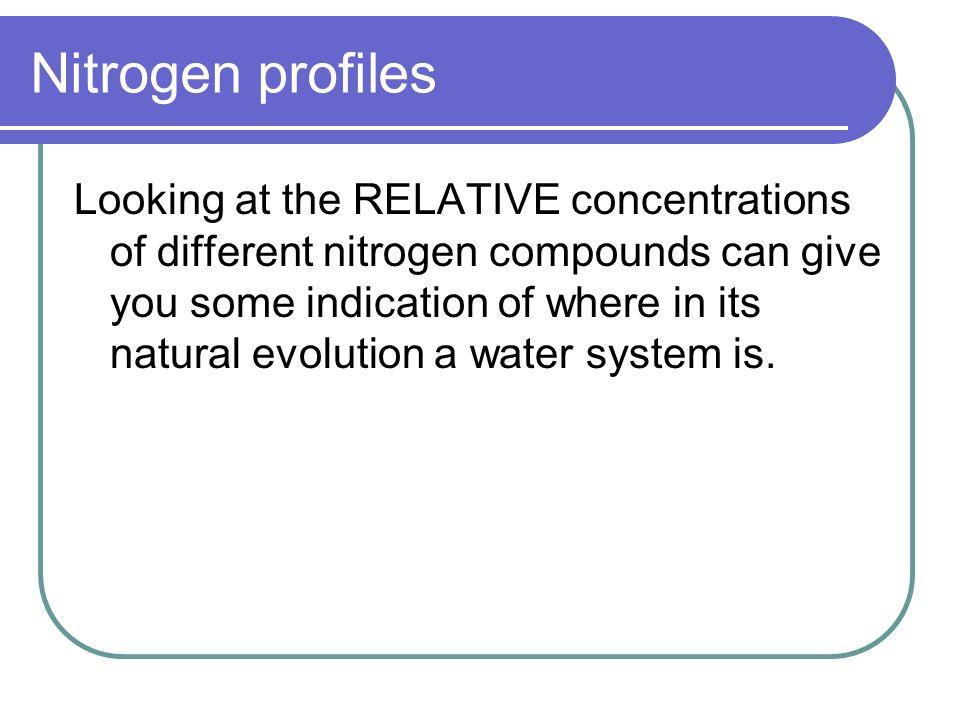 Nitrogen profiles