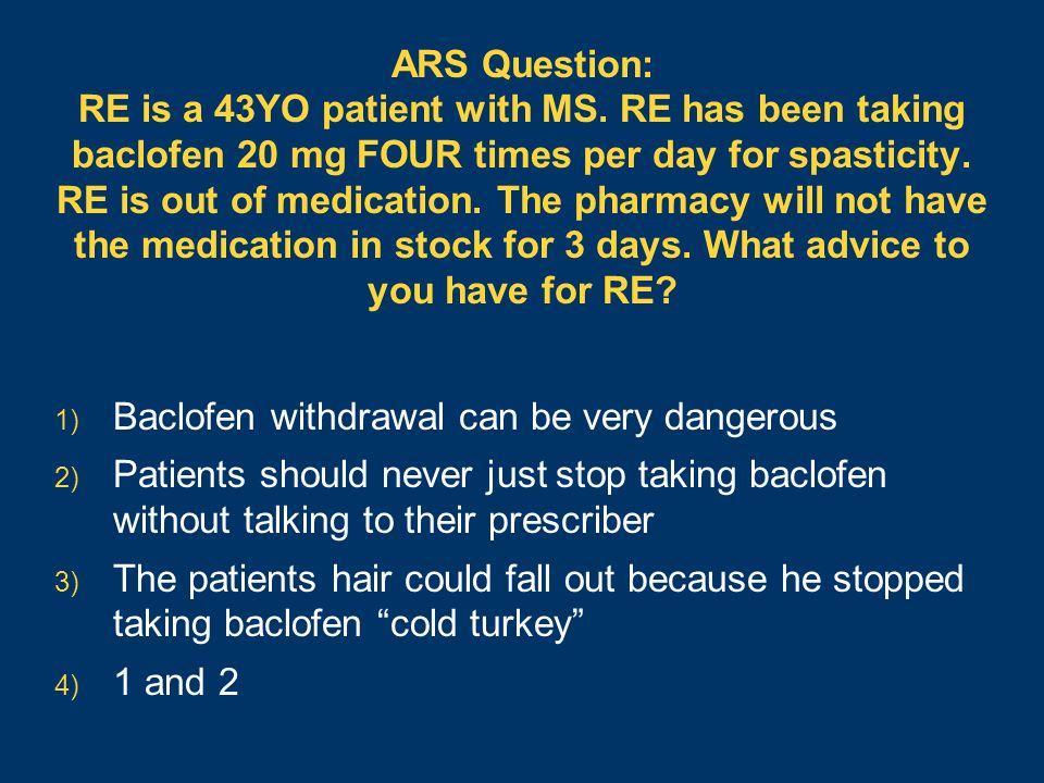 robert j lipsy, pharmd, bcps, fashp  ppt download ~ Baclofen Withdrawal Symptoms